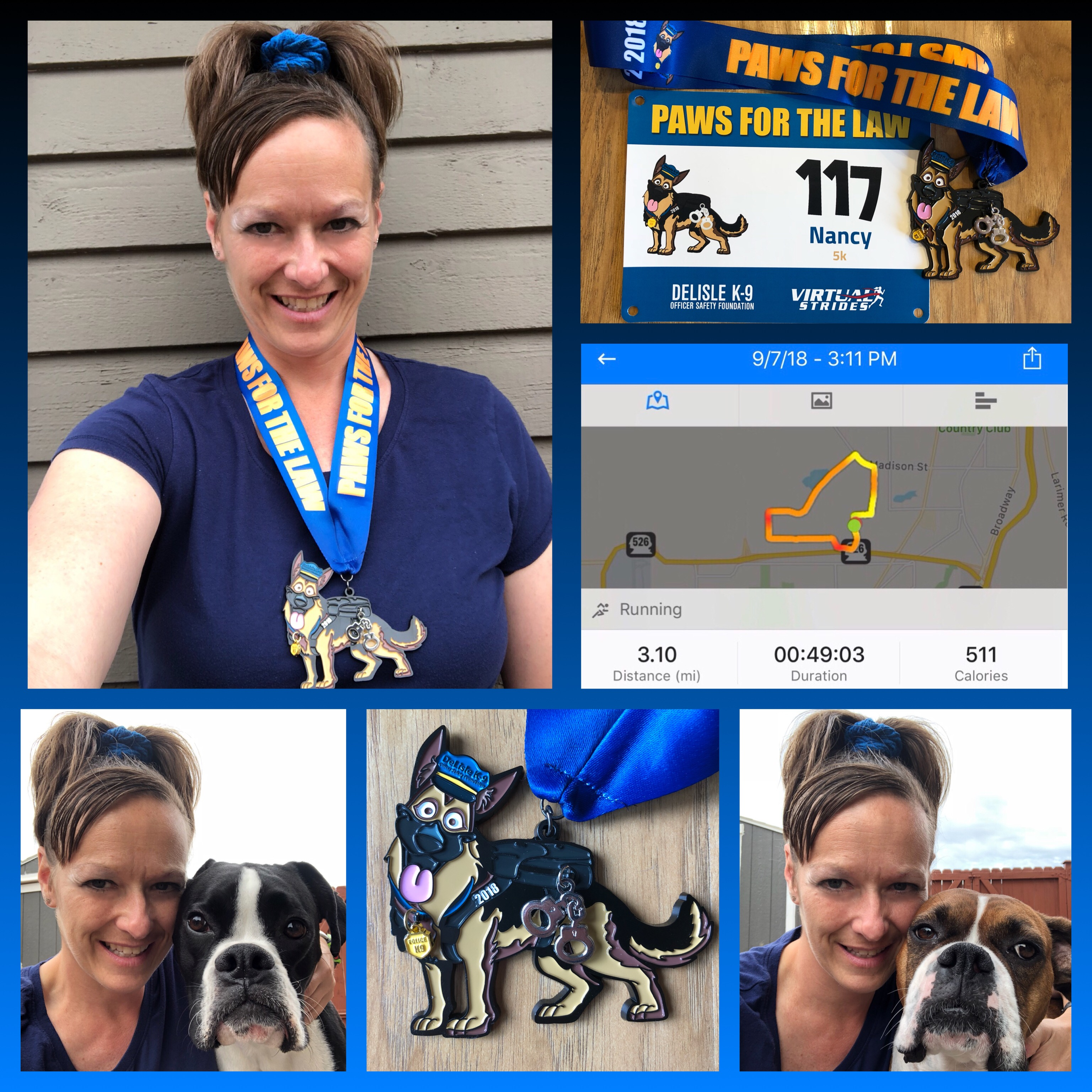 Paws for the Law 2018 5k Results – Virtual Strides